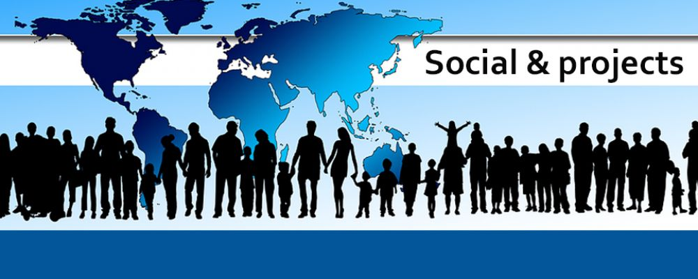 Soziales & Projekte Cover Image