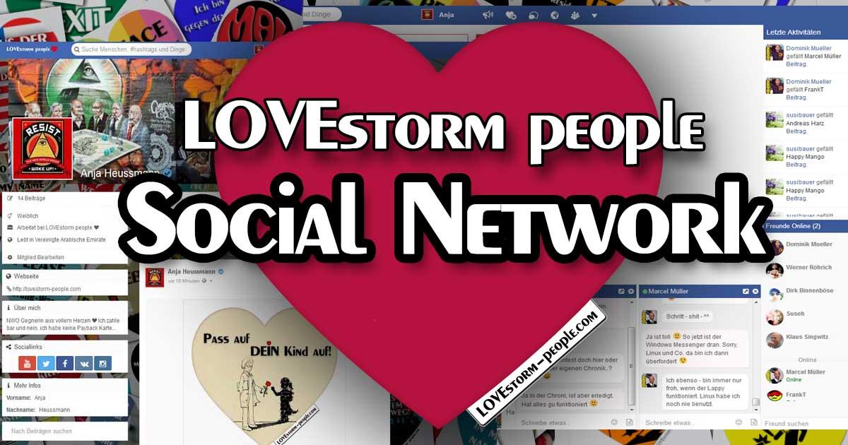 LOVEstorm people ❤ Social Network