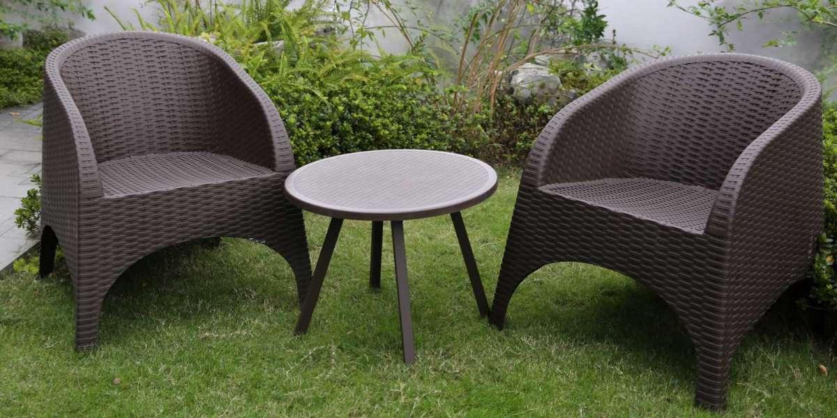 Inshare Rattan Corner Sofa Is Perfect in the Garden
