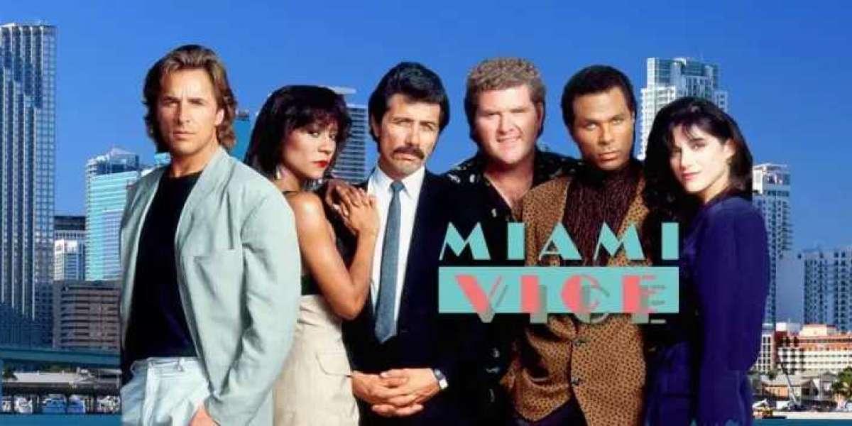 Miami Vice - die Krimikultserie der 1980er