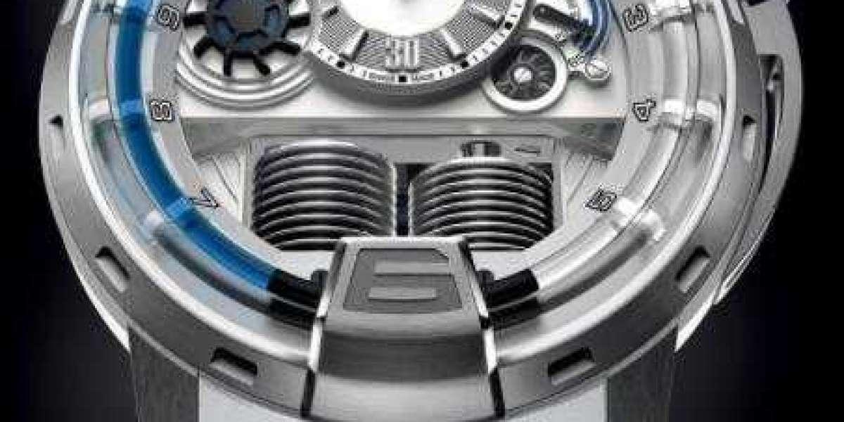 HYT H1 Black Sapphire Dome Black DLC Titanium fake watch 148-DL-21-GF-RU-BD for sale