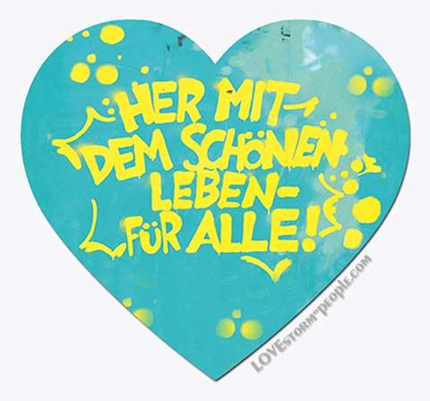 Lovestorm people Herz 0025
