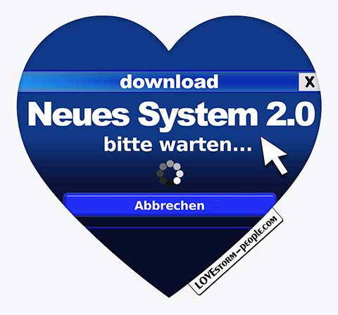 LOVE storm Herz ❤ 230