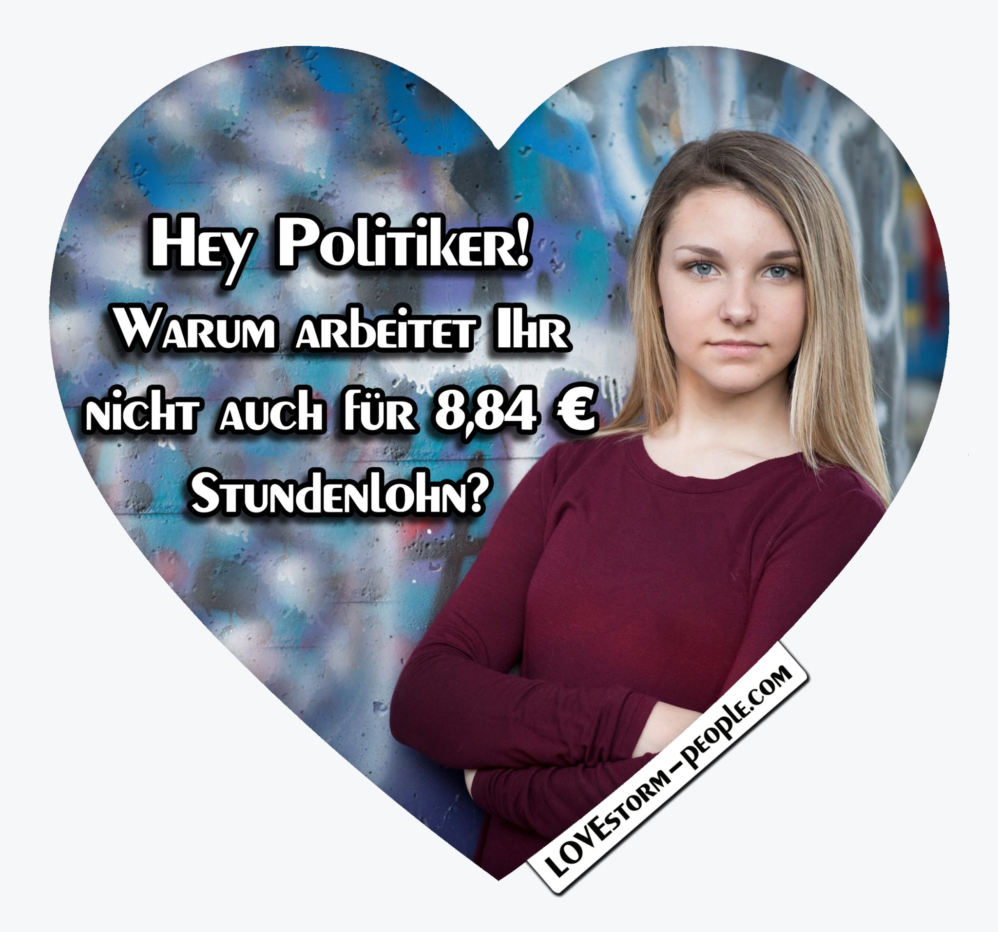 Lovestorm people Herz 0362